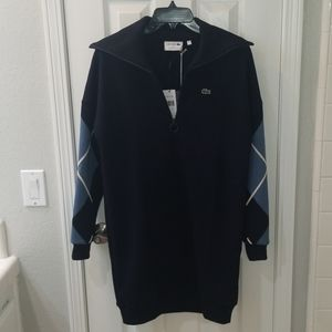 Lacoste navy blue dress new with tags.